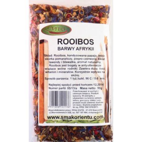 Rooibos barwy afryki