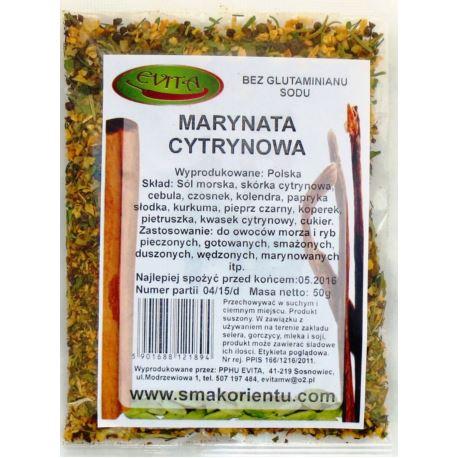 Marynata cytrynowa